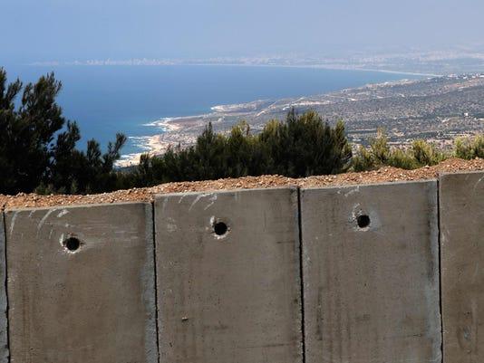 ISRAEL-LEBANON-BORDER