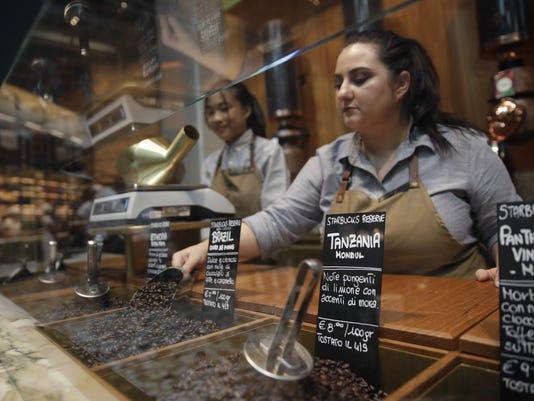 Italy Starbucks