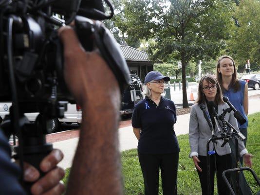Alexis Goldstein, Karen Bralove, Sarah Burgess