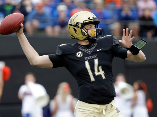 Kyle Shurmur is coming after Jay Cutler's Vanderbilt QB records and will be a key player Saturday.