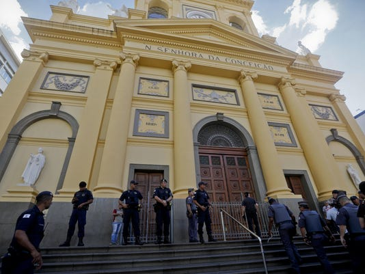 Brazil Cathedral Shooting