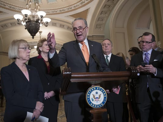 Chuck Schumer, Dick Durbin, Patty Murray, Debbie Stabenow