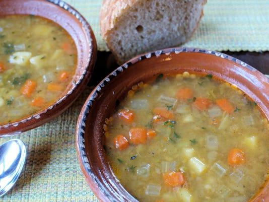 JF Split pea soup