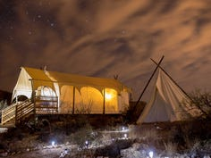 Camp comfortably at these glamping spots this summer
