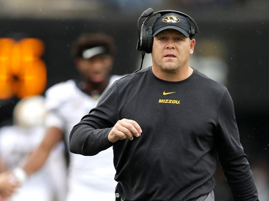 Mizzou Fires Football Coach Barry Odom