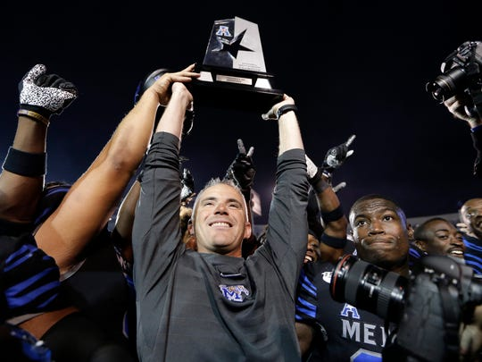 Mike Norvell is one of the hottest names for Power 5 schools in the college football coaching carousel.