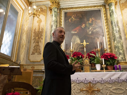 Monsignor John Kennedy heads the Congregation for the Doctrine of the Faith, the Vatican office responsible for processing clergy sex abuse complaints, which has seen a record 1,000 cases reported this year.