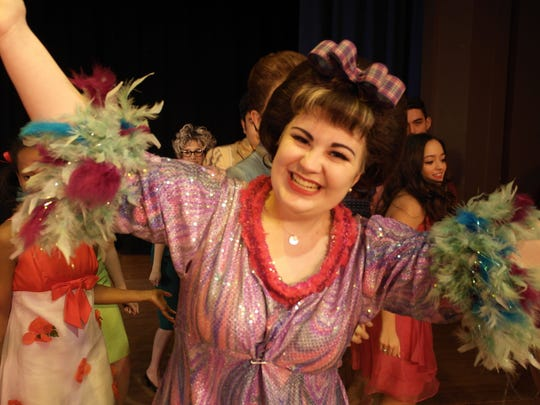 "Union Catholic High School's Performing Arts Company presents the musical ""Hairspray"" over the next two weekends. Kate Carolan, a senior from Linden, stars as Tracy Turnblad."