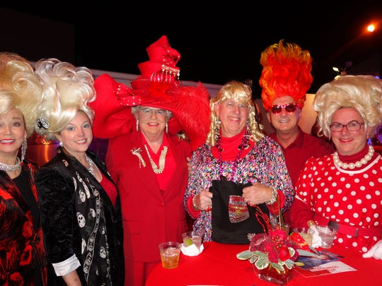 From left: Judy Allen, Sarah Gagan-Cavan, George Sellers, David Hood, Gary Hall, Sandy Rosenberg.