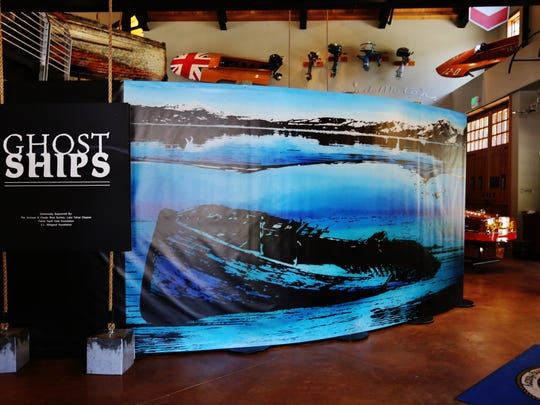 Ghost Ships exhibit runs through April 2015 at the Tahoe Maritime Museum in Homewood.