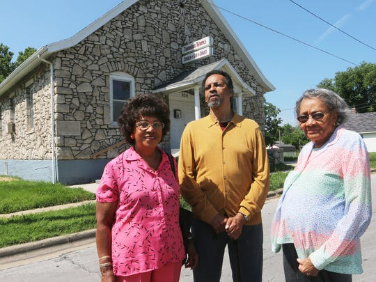 Betty Ranson, Denny Whayne and Shirley Blakley are asking that Timmons Temple be saved.