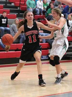 Crestview's Kathleen Leeper was named Special Mention All-Ohio in Division III girls basketball.