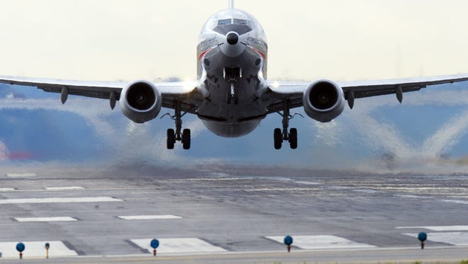 Flights into and out of Lansing's Capital Region International Airport are being impacted by the overnight closure of Detroit Metropolitan Airport.