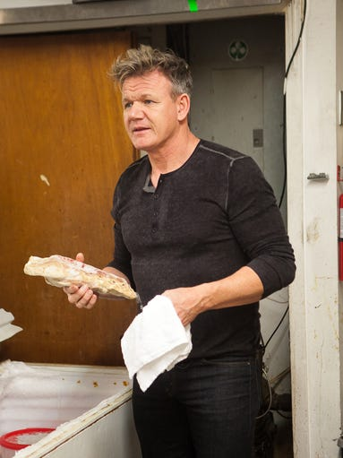 Foul-mouthed British chef Gordon Ramsey is back on