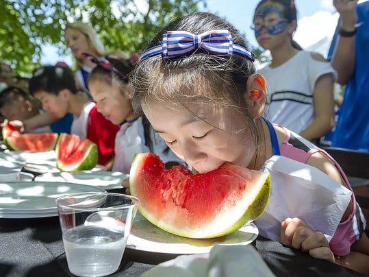 3) watermelon