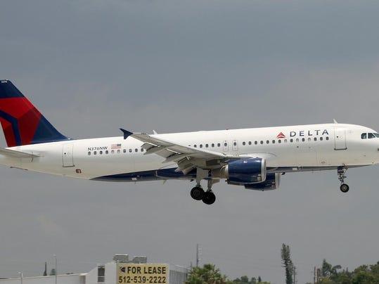 1 Delta Air Lines Airbus 320
