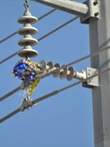 Mylar balloons that come into contact with power lines can trigger electrical outages.