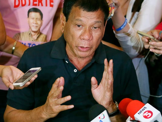 AP PHILIPPINES DUTERTE CONTRACEPTIVES I FILE PHL