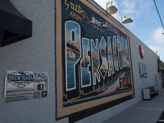 Brew Ha Ha is a new Pensacola themed restaurant on