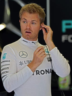 Nico Rosberg signed an extension to remain with Mercedes through 2018.