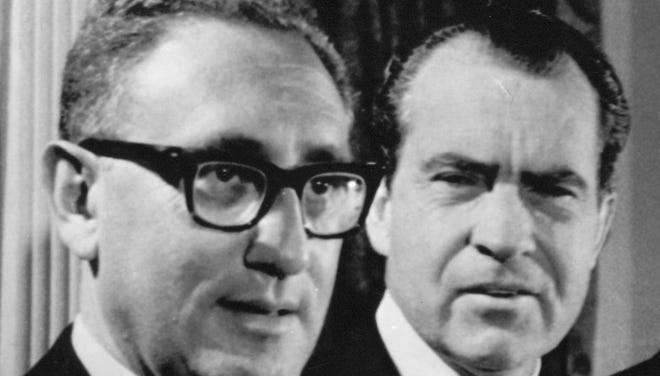 Henry Kissinger and President Richard Nixon pressured the intelligence community for more dire reports about Soviet capabilities.