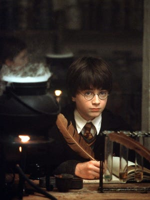 """A scene from the film """"Harry Potter and the Sorcerer's Stone."""""""