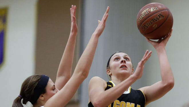 Algoma senior Anna Dier was named a unanimous all-state choice in Division 4 by the Wisconsin Basketball Coaches Association. Dier averaged 19.1 points per game for the Wolves.