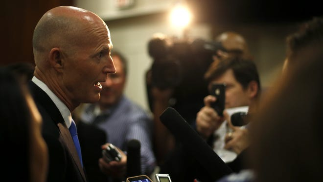 Politicians, business leaders and lobbyists were invited to Gov. Scott's Degrees to Jobs summit. Not included were any professors.