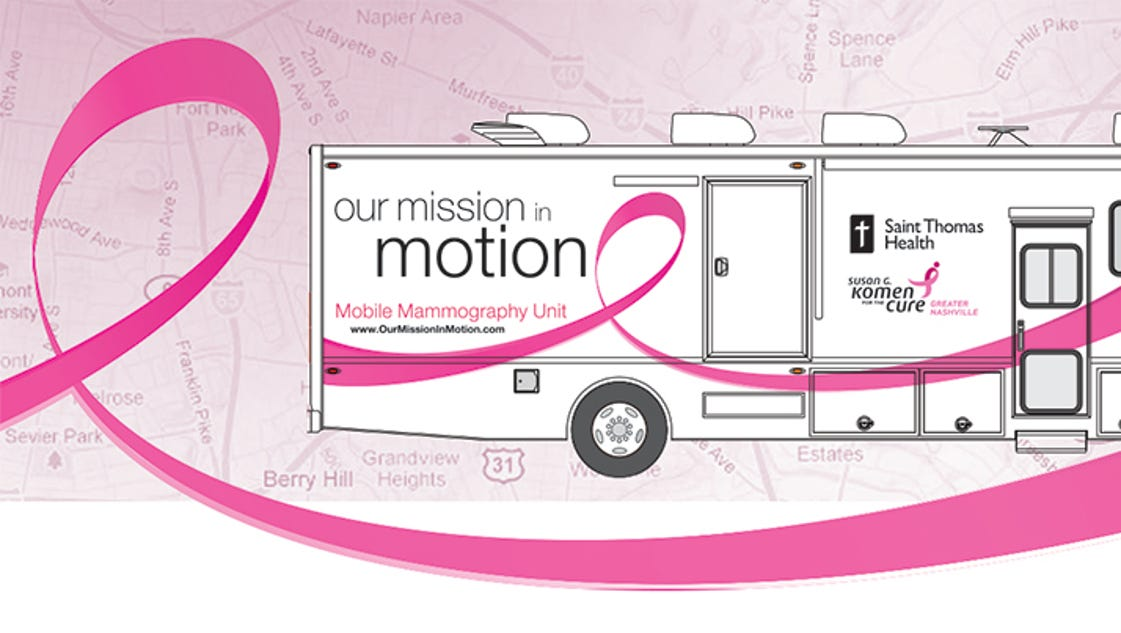 Mobile Mammography Unit To Make Fairview Stop Friday