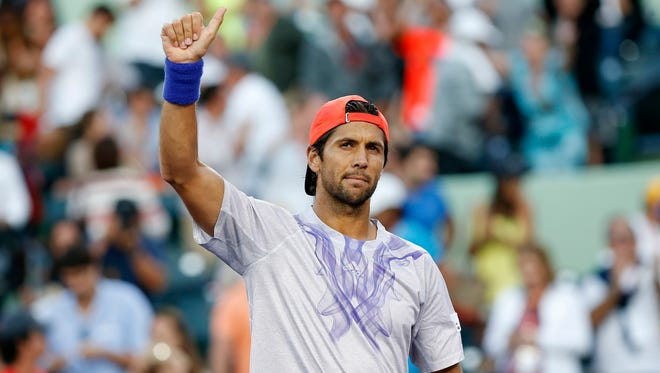 Fernando Verdasco has won two straight over Rafael Nadal after losing the first 13 meeting against his fellow Spaniard.