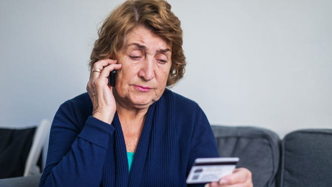Some phone scams target the elderly, experts say.