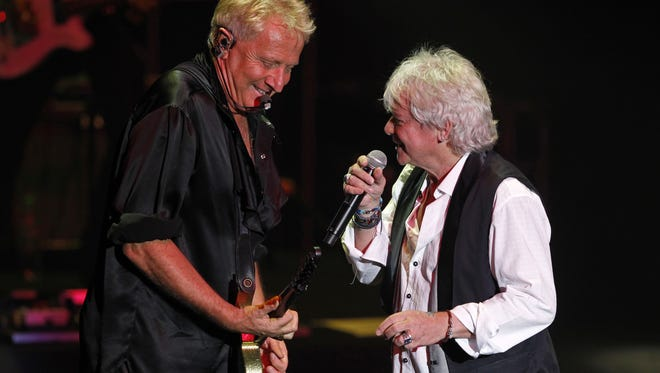 Air Supply, featuring Russell Hitchcock and Graham Russell, perform Friday at The Show in the Agua Caliente Casino Resort Spa in Rancho Mirage.
