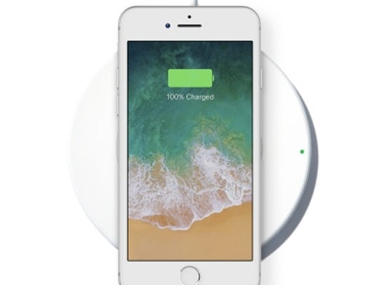 Belkin BoostUp Wireless Charging Pad.