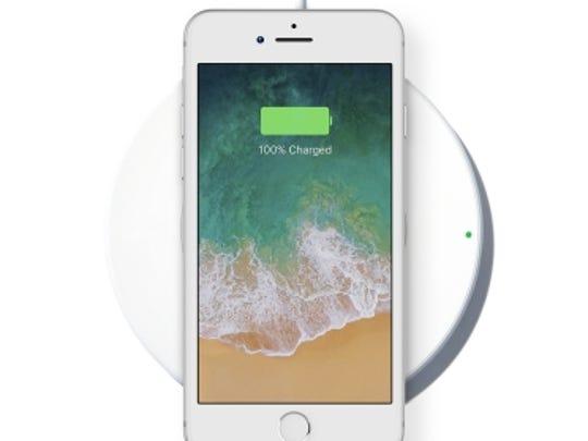 Belkin BoostUp Wireless Charging Pad.