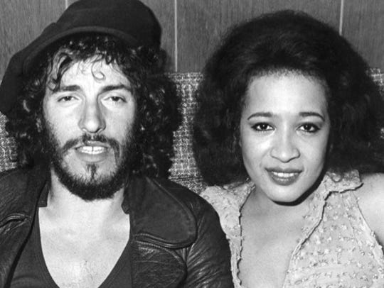 Bruce Springsteen's E Street Band and Ronnie Spector