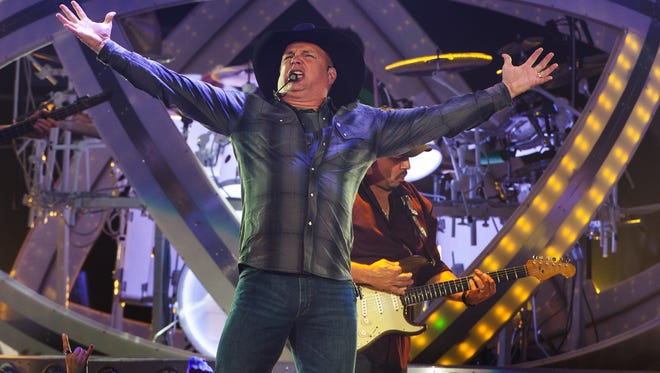 Country music star Garth Brooks will perform at the Save Mart Center.