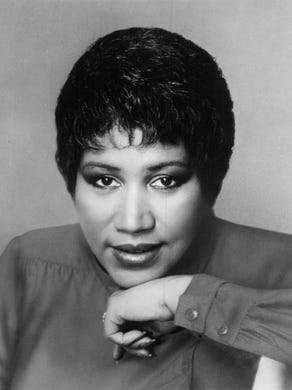 Aretha Franklin from Arista records.
