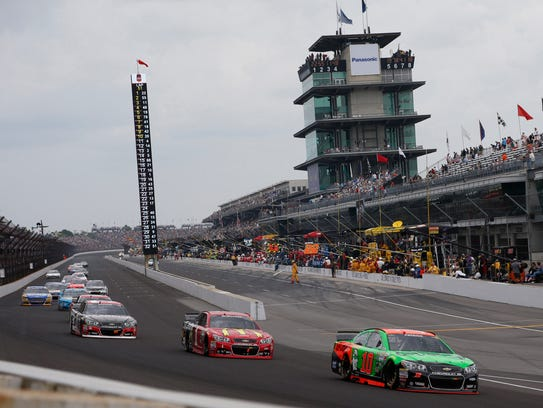 The success of Indianapolis Motor Speedway, above,