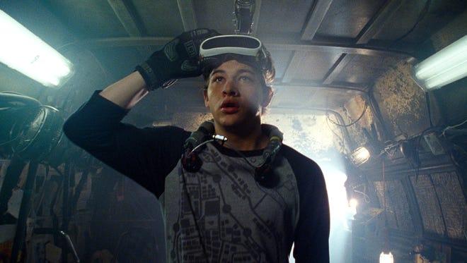 Wade Owen Watts (Tye Sheridan) escapes reality in 'Ready Player One.'
