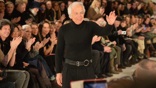 Ralph Lauren attends the Ralph Lauren fashion show during Mercedes-Benz Fashion Week Fall 2014 at St. John Center Studios on February 13, 2014 in New York City.
