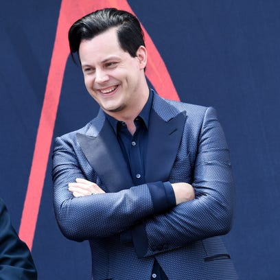 Inductee Jack White on June 4, 2015, in Nashville,