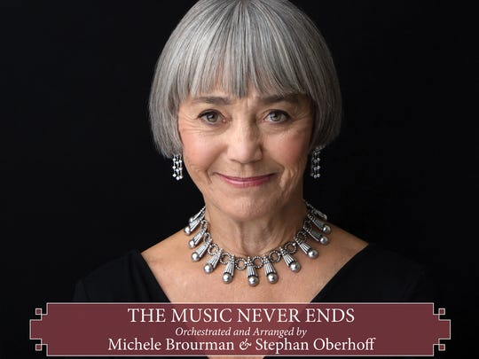 """Cover to Susan Watson's 2016 album """"The Music Never Ends."""""""