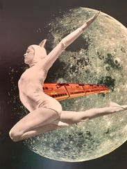Transit From Crescent to Gibbous Collage by artisit