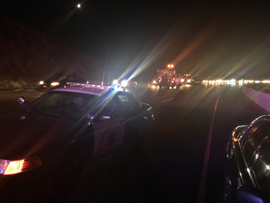 Highway 118 pedestrian killed Simi Valley