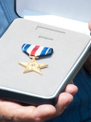 The Silver Star was given posthumously to James Castaldi, who lost his life in the Vietnam War.