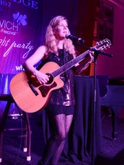 Dar Williams performs at the opening night party of