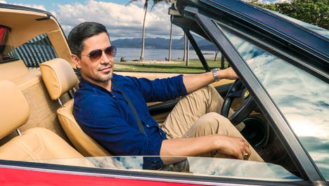 """""""Magnum P.I."""" (CBS): Jay Hernandez (""""Scandal"""") plays private investigator Thomas Magnum in this reboot of the classic 1980s action series that originally starred Tom Selleck."""