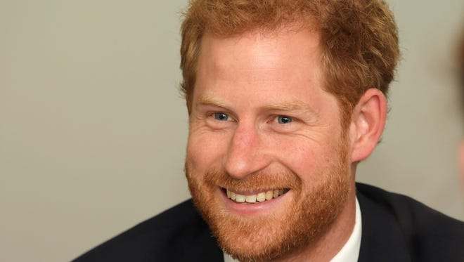 Prince Harry on Sept. 5, 2017 in London.