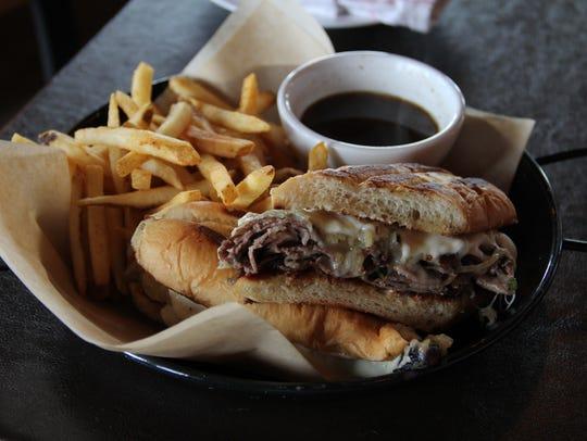 The roast beef sandwich at The MarKum Inn pairs Coleman