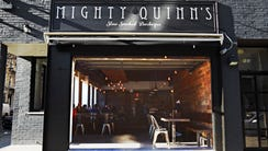 Mighty Quinn's Barbecue has dedicated space to handle